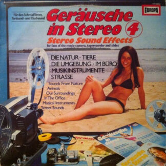 No Artist - Geräusche In Stereo 4 (Stereo Sound Effects) (LP, RE)