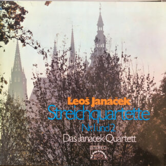 Leoš Janáček, Das Janáček-Quartett* - Streichquartette (LP)