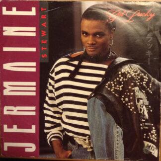 "Jermaine Stewart - Get Lucky (7"", Single, Whi)"