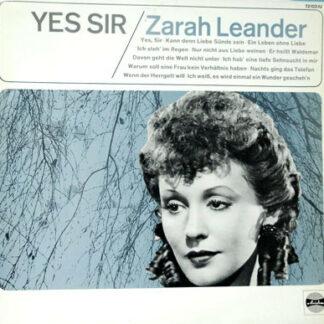 Zarah Leander - Yes, Sir! (LP, Comp, RE, Red)