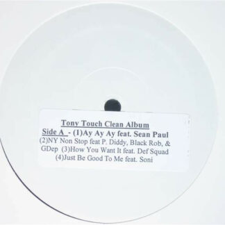 """Tony Touch - The Piece Maker 2 (Clean Promo) (12"""", Promo, Smplr, W/Lbl)"""