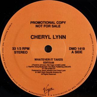 """Cheryl Lynn - Whatever It Takes (12"""", Single, Promo)"""