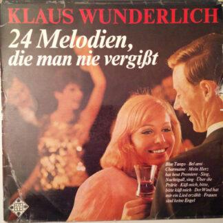 Klaus Wunderlich - 24 Melodien, Die Man Nie Vergißt, Vol. 1 (LP, Album)