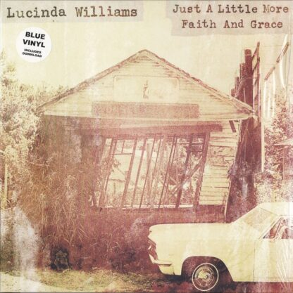 "Lucinda Williams - Just A Little More Faith And Grace (12"", Maxi, Blu)"