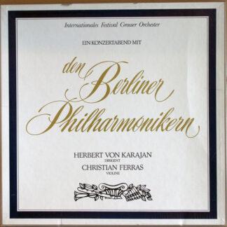 Berliner Philharmoniker - Herbert von Karajan, Christian Ferras - Ein Konzertabend Mit Den Berliner Philharmonikern (4xLP, Comp + Box)