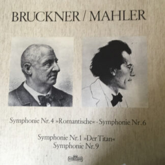 Anton Bruckner, Gustav Mahler - Bruckner / Mahler (5xLP, Album, Comp + Box)