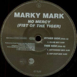 "Marky Mark - No Mercy (Fist Of The Tiger) (12"")"