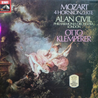 Mozart*, Alan Civil, Otto Klemperer, Philharmonia Orchestra - 4 Hornkonzerte (LP, Album, RE)