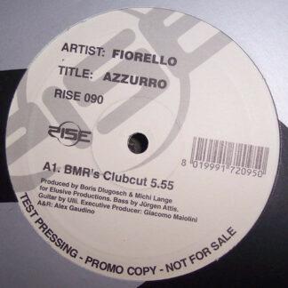 """Fiorello - Azzurro (12"""", Promo, TP)"""