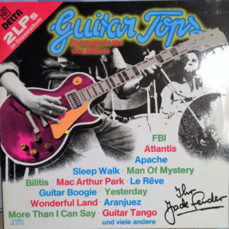 Jack Fender - Guitar Tops (2xLP, Album)