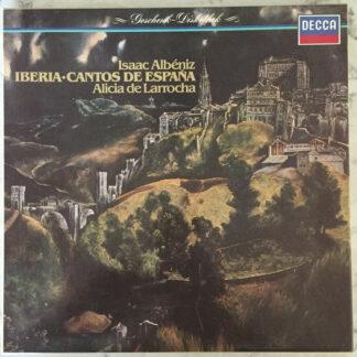 Isaac Albéniz - Alicia de Larrocha - Iberia • Cantos de España (2xLP, Album + Box, Album)