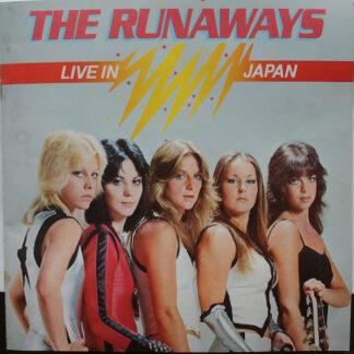 The Runaways - Live In Japan (LP, Album, Gat)