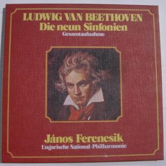 Ludwig van Beethoven - János Ferencsik, Ungarische National-Philharmonie* - Die Neun Sinfonien (Gesamtausgabe) (6xLP, Album + Box)