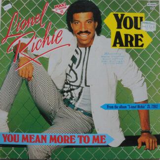 "Lionel Richie - You Are (12"")"