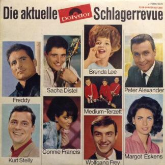"""Various - Die Aktuelle Polydor Schlagerrevue (10"""", Comp, Mono, Club)"""