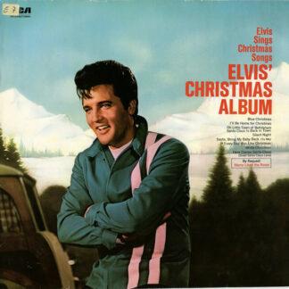 Elvis* - Elvis' Christmas Album (LP, Album, RE)
