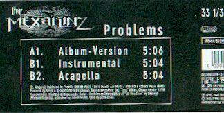 Tha Mexakinz - Problems (12