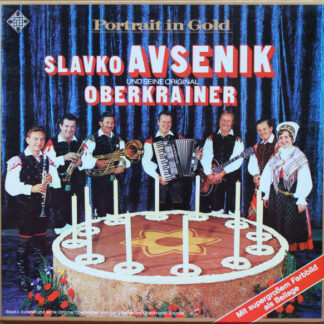 Slavko Avsenik Und Seine Original Oberkrainer - Portrait In Gold (Box, Comp + 2xLP, Comp)