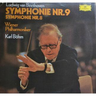 Ludwig van Beethoven, Wiener Staatsopernchor, Karl Böhm - Symphonie Nr. 9 / Symphonie Nr. 8 (2xLP)