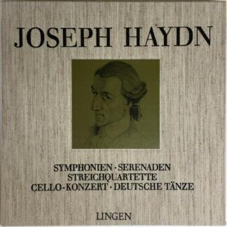 Joseph Haydn - Symphonien, Serenaden, Streichquartette, Cello-Konzert, Deutsche Tänze (5xLP)
