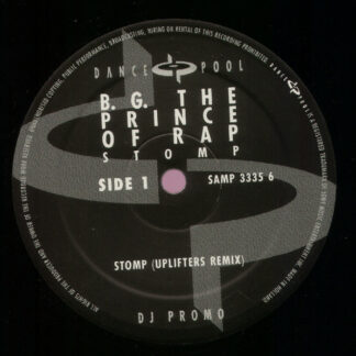 "B.G. The Prince Of Rap - Stomp (Uplifters Remix) (12"", S/Sided, Promo)"