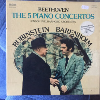 Beethoven*, Rubinstein*, Barenboim*, London Philharmonic Orchestra* - The Five Piano Concertos (Box + 5xLP, Comp)