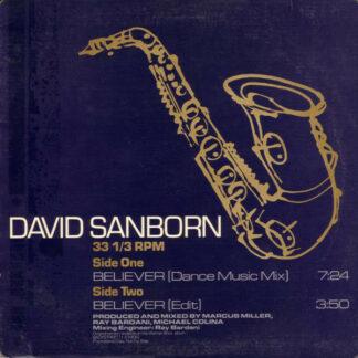 "David Sanborn - Believer (12"", Promo)"