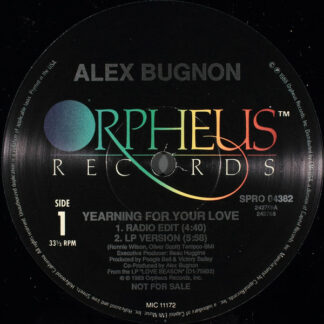 Alex Bugnon - Yearning For Your Love (12