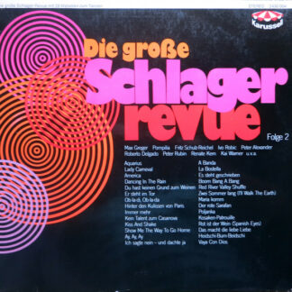 Various - Die Grosse Schlager Revue - Folge 2 (LP, Comp)