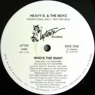 Heavy D. & The Boyz - Who's The Man? (12