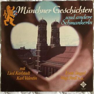 Various - Münchner Geschichten Und Andere Schmankerln (LP, Club)