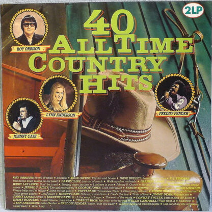 Various - 40 All Time Country Hits (2xLP, Comp)