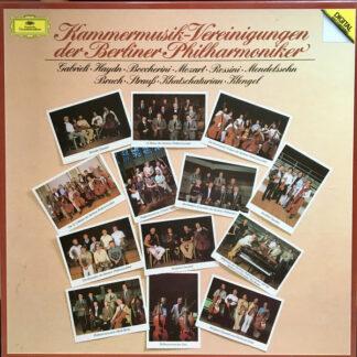 Kammermusik-Vereinigungen der Berliner Philharmoniker* - Kammermusik (5xLP + Box)
