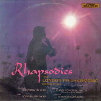 The London Philharmonic Orchestra - Rhapsodies (LP, Album, Yel)