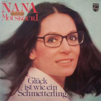 Nana Mouskouri - Glück Ist Wie Ein Schmetterling (LP, Album, Clu)