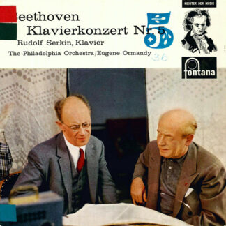 Beethoven*, Rudolf Serkin, The Philadelphia Orchestra / Eugene Ormandy - Klavierkonzert Nr. 5 (10