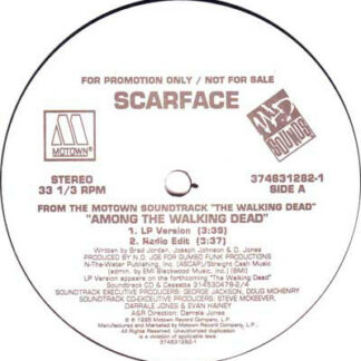 """Scarface (3) - Among The Walking Dead (12"""", Promo)"""
