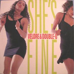 """Velore & Double-O - She's Fine (12"""", Promo)"""