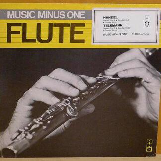 Various, Georg Friedrich Händel, Georg Philipp Telemann - Music Minus One Flute Or Violin (LP)