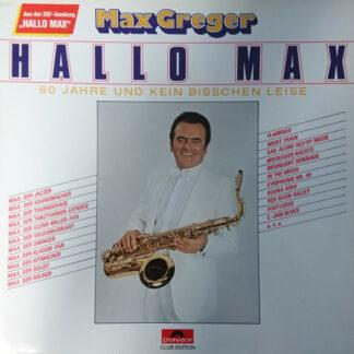 Max Greger - Hallo Max (LP, Club)