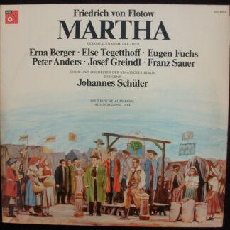 Friedrich von Flotow - Martha (2xLP, His)