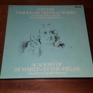 Georg Friedrich Händel, The Academy Of St. Martin-in-the-Fields, Iona Brown, Sir Neville Marriner - Händel - Berühmte Orchesterwerke / Famous Orchestral Works (4xLP, Album, Box)