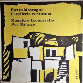 Pietro Mascagni, Ruggiero Leoncavallo - Cavalleria Rusticana, Der Bajazzo (3xLP, Album, Mono + Box)
