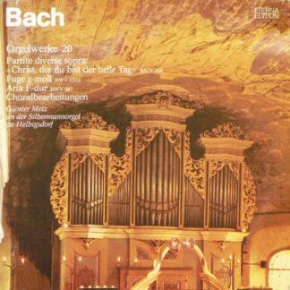 Bach* - Günter Metz - Orgelwerke 20 (LP, RP)