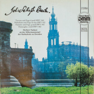 Johann Sebastian Bach - Herbert Tachezi - Orgelwerke BWV 565, 552, 542, 582 (LP, DMM)